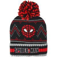 Accessoires Kinder Mütze Spiderman  Schwarz/Rot