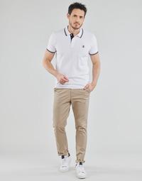 Kleidung Herren Chinohosen Selected SLHSLIM-MILES FLEX Beige