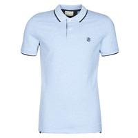 Kleidung Herren Polohemden Selected SLHNEWSEASON Blau