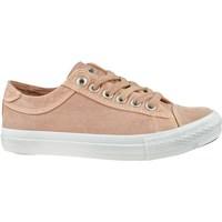 Schuhe Damen Sneaker Low Lee Cooper LCWL2031012 Weiß, Rosa
