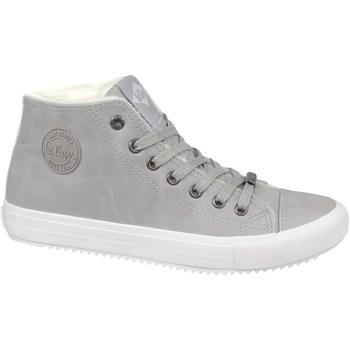 Schuhe Damen Sneaker High Lee Cooper LCJL2031013 Grau