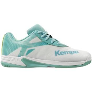 Schuhe Mädchen Fitness / Training Uhlsport Hallenschuhe WING 2.0 JUNIOR 2008560 05 weiß