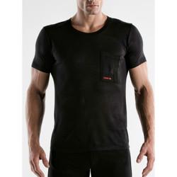 Kleidung Herren T-Shirts Code 22 Kurzärmeliges T-Shirt von Core Code22 Perlschwarz