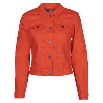 Kleidung Damen Jeansjacken Noisy May NMDEBRA Rot