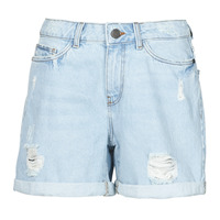 Kleidung Damen Shorts / Bermudas Noisy May NMSMILEY Blau