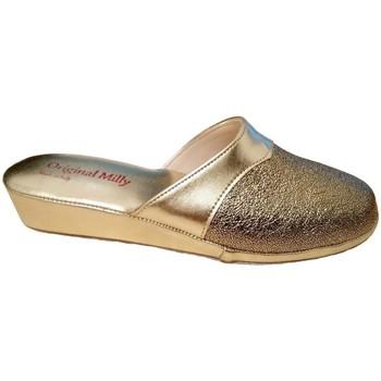 Schuhe Damen Pantoffel Milly MILLY4200oro grigio