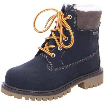 Schuhe Jungen Schneestiefel Lurchi Schnuerstiefel 33-12024-22 blau