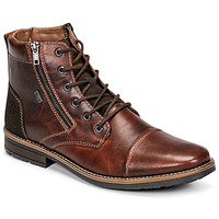 Schuhe Herren Boots Rieker  Braun
