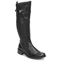 Schuhe Damen Klassische Stiefel Rieker  Schwarz