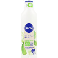 Beauty Damen pflegende Körperlotion Nivea Naturally Good Aloe Vera Loción Corporal  350 ml