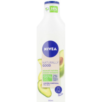Beauty Damen pflegende Körperlotion Nivea Naturally Good Aguacate Loción Corporal  350 ml