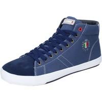 Schuhe Herren Sneaker High Armata Di Mare BJ84 Blau