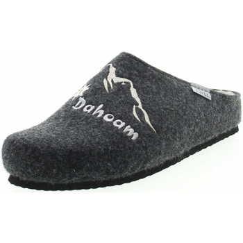 Schuhe Herren Hausschuhe Tofee 74 01105 12 Dahoam Herren Pantoffel Grau Grau
