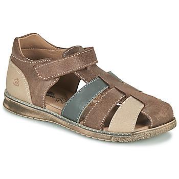 Schuhe Jungen Sandalen / Sandaletten Citrouille et Compagnie FRINOUI Braun