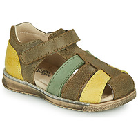Schuhe Jungen Sandalen / Sandaletten Citrouille et Compagnie FRINOUI Kaki