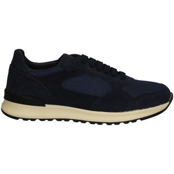 Schuhe Herren Sneaker Low Campanile X222 BLAU