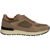 Schuhe Herren Sneaker Low Campanile X222 GRAU