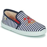 Schuhe Jungen Sneaker Low Citrouille et Compagnie OCILO Marine