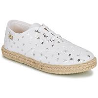 Schuhe Mädchen Sneaker Low Citrouille et Compagnie OUAKA Silbern