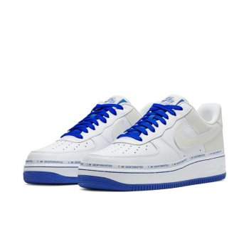 Schuhe Sneaker Low Nike Air Force 1 Low More Then White/Lapis Blue