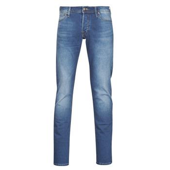 Kleidung Herren Slim Fit Jeans Jack & Jones JJIGLENN Blau