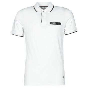 Kleidung Herren Polohemden Jack & Jones JPRBLABOLTON Weiss