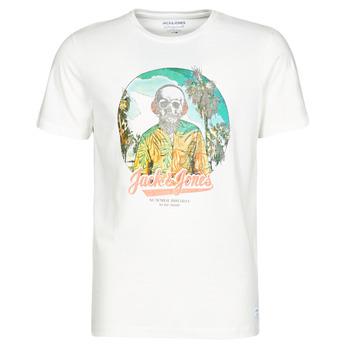 Kleidung Herren T-Shirts Jack & Jones JORDAAYS Weiss