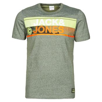 Kleidung Herren T-Shirts Jack & Jones JCONICCO Kaki
