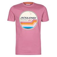 Kleidung Herren T-Shirts Jack & Jones JORTYLER Rose