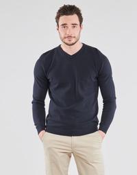 Kleidung Herren Pullover Jack & Jones JJEBASIC Marine