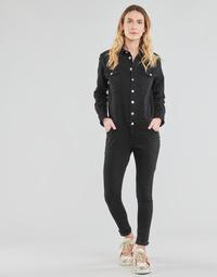 Kleidung Damen Overalls / Latzhosen Betty London OPANTS Schwarz