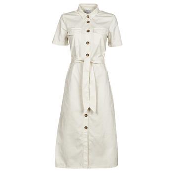 Kleidung Damen Maxikleider Betty London ODRESS Naturfarben