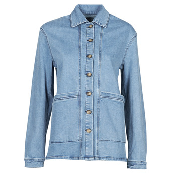 Kleidung Damen Jeansjacken Betty London OVEST Blau