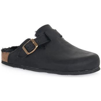 Schuhe Damen Pantoletten / Clogs Bioline GUM NERO Nero