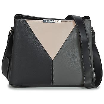 Taschen Damen Umhängetaschen David Jones 6510-1 Schwarz