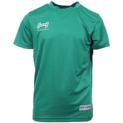 Kleidung Herren T-Shirts Hungaria H-15TMJUBA00 Grün