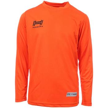 Kleidung Herren Langarmshirts Hungaria H-15TMJUCA00 Orange