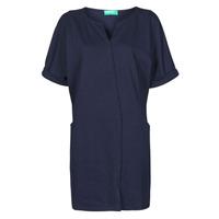 Kleidung Damen Kurze Kleider Benetton CAMILA Marine