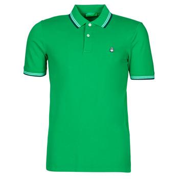 Kleidung Herren Polohemden Benetton 3WG9J3181-108 Grün