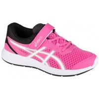 Schuhe Kinder Laufschuhe Asics Ikaia 9 PS Rosa