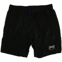 Kleidung Jungen Shorts / Bermudas Hungaria H-15BPUXK000 Schwarz