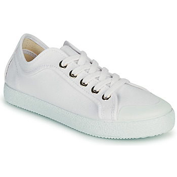 Schuhe Damen Sneaker Low Dream in Green OBRINDILLE Weiss