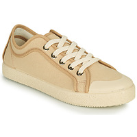 Schuhe Damen Sneaker Low Dream in Green OBRINDILLE Beige