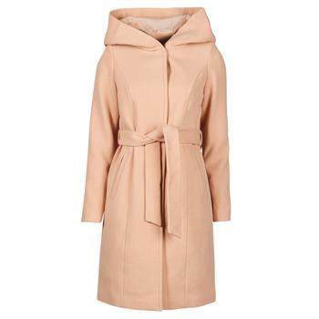 Kleidung Damen Mäntel Vero Moda VMCALALYON HOOD 3/4 JACKET GA Rose