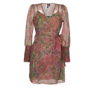 Kleidung Damen Kurze Kleider Vero Moda VMABELIA Grün / Rot