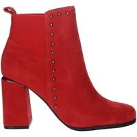 Schuhe Damen Low Boots Pregunta PFC9481 Rot