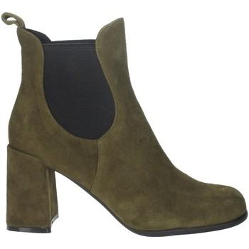 Schuhe Damen Low Boots Pregunta PFC9170 Dunkel Grün