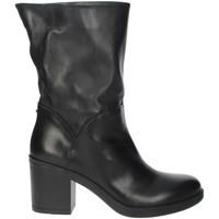 Schuhe Damen Klassische Stiefel Pregunta IAU108 Schwarz