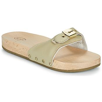 Schuhe Damen Pantoffel Scholl PESCURA FLAT Beige