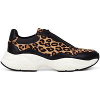 Schuhe Damen Sneaker Low Ed Hardy - Insert runner-wild black/leopard Schwarz